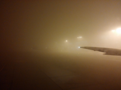 Fog at Incheon Airport