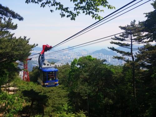 ropeway in Busan