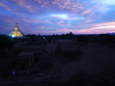 Early dawn in Bagan