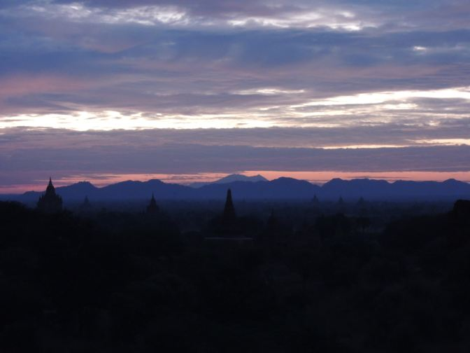 Early Dawn in Bagan 2