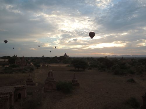 Baloons over Bagan Sunrise
