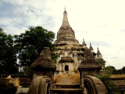 Old Bagan Buddhist Temple Abandoned