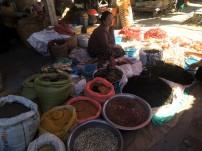 Floating market seller in Inle Lake