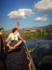 Guided tour around small village Inle Lake