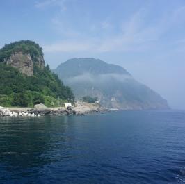 Ulleungdo boat tour 1