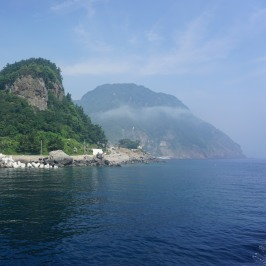 Ulleungdo boat tour 1
