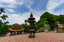 Temple grounds near perfume pagoda