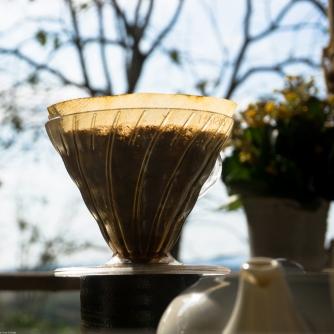 Coffee percolates